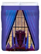 Echo Of The Pipes Duvet Cover