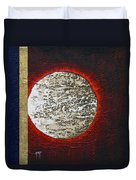 Eclips Of The Sun Duvet Cover