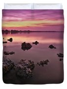 Edge Of A New Day Duvet Cover
