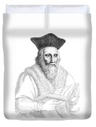 Edward Kelley, English Alchemist Duvet Cover by Science Source