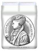 Edward Vi (1537-1553) Duvet Cover