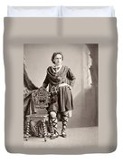 Edwin Booth (1833-1893) Duvet Cover