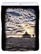 Eerie Lighthouse Duvet Cover