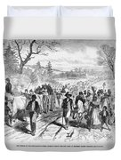 Effects Of Emancipation Proclamation Duvet Cover
