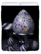 Egg And Goblet Duvet Cover