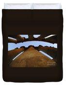 Egypt Luxor Pillars Duvet Cover