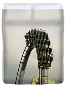 Egypt-montu Rollercoaster At Busch Duvet Cover
