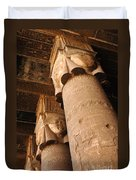 Egypt Temple Of Dendara Duvet Cover