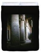 Egypt: Temple Of Hathor Duvet Cover