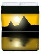 Egyptian Sunrise Duvet Cover