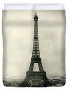 Eiffel Tower 1890 Duvet Cover
