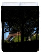 Eiffel Tower Shadows Duvet Cover