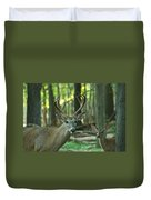 Eight Point And Fawn_9532_4367 Duvet Cover