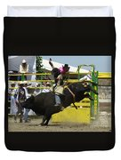 Rodeo Eight Seconds Duvet Cover
