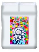 Einstein Imagination Duvet Cover