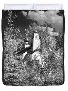 Eklutna Church Duvet Cover