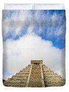 El Castillo Duvet Cover