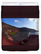 El Golfo Panorama Duvet Cover