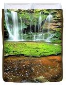 Elakala Falls Portrait Duvet Cover