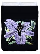 Electric Lily Phase Two Duvet Cover