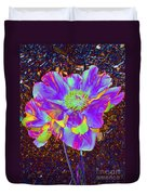 Electric Peony Duvet Cover