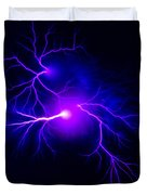 Electric Spark Duvet Cover