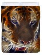 Electric Tiger Duvet Cover