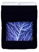 Electrical Discharge Lichtenberg Figure Duvet Cover
