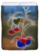 Electrifying Fuchsia Duvet Cover