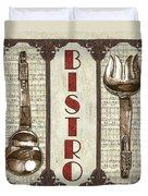 Elegant Bistro 1 Duvet Cover