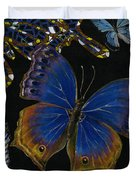 Elena Yakubovich - Butterfly 2x2 Lower Right Corner Duvet Cover