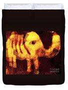 Elephant I Am Duvet Cover