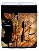 Elijah Oliver Smokehouse Duvet Cover