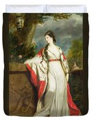 Elizabeth Gunning - Duchess Of Hamilton And Duchess Of Argyll Duvet Cover by Sir Joshua Reynolds