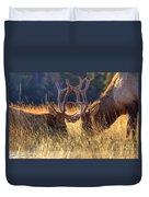 Elk 2 Elk Duvet Cover