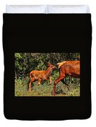 Elk Fawn Duvet Cover