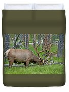 Elk Meadow  Duvet Cover