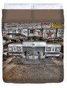 Elvis' Cadillac Duvet Cover