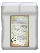 Emancipation Proc., P. 4 Duvet Cover