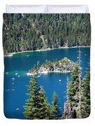 Emerald Bay Vertical Duvet Cover