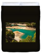 Emerald Lake I. El Chorro. Spain Duvet Cover