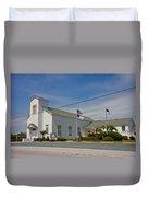 Emma Anderson Memorial Chapel Duvet Cover