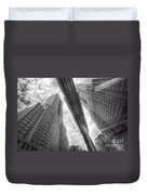 Empire State Reflection Duvet Cover
