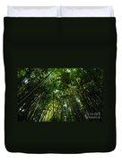 Enchanted Forest Haleakala National Park Duvet Cover