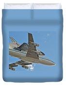 Endeavour's Last Flight Iv Duvet Cover