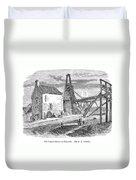 England: Coal Mining Duvet Cover