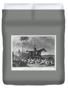 England: Fox Hunt, 1832 Duvet Cover