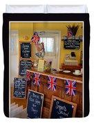 English Tearoom Duvet Cover