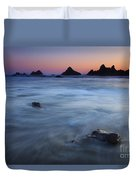Engulfed By The Tides Duvet Cover