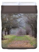 Enter The Mystery Forest Duvet Cover